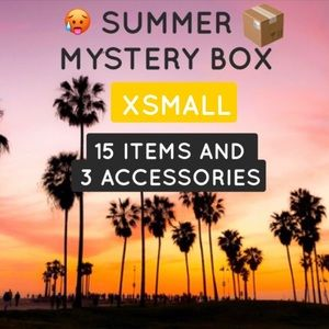 SUMMER MYSTERY BOX 15 ITEMS 3 ACCESSORIES XSMALL